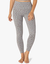 Load image into Gallery viewer, BEYOND YOGA LEOPARD JACQUARD HIGH WAISTED MIDI LEGGING