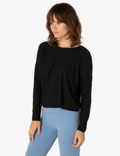 Load image into Gallery viewer, BEYOND YOGA CROPPED SPACEDYE PULLOVER