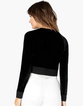 Load image into Gallery viewer, BEYOND YOGA CROPPED VELVET PULLOVER