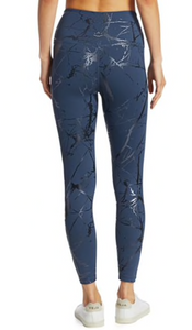 BEYOND YOGA MARBLED MIDI LEGGING