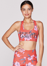 Load image into Gallery viewer, SPIRITUAL GANGSTER WARRIOR FLORAL BRA