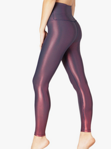 BEYOND YOGA SHINY DOT MIDI LEGGING
