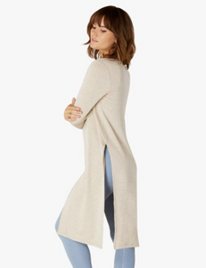 BEYOND YOGA HIGH SLITS DUSTER