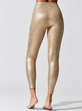 Load image into Gallery viewer, BEYOND YOGA LUXE LEATHERETTE HIGH WAISTED MIDI LEGGING