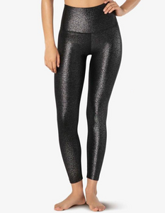 BEYOND YOGA TWINKLE HIGH WAISTED MIDI LEGGING