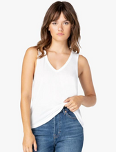 Load image into Gallery viewer, BEYOND YOGA BOYFRIEND V NECK TANK