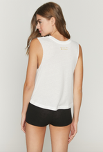 Load image into Gallery viewer, SPIRITUAL GANGSTER x PURE BARRE PURE VIBES CROP TANK