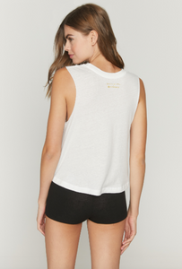 SPIRITUAL GANGSTER x PURE BARRE PURE VIBES CROP TANK