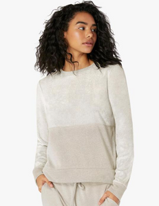 BEYOND YOGA TERRY PULLOVER