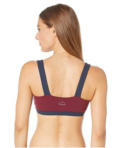 BEYOND YOGA COLORBLOCK BRA