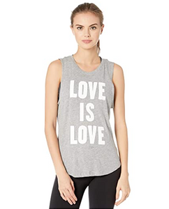 SPIRITUAL GANGSTER LOVE IS LOVE MUSCLE TANK