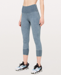 "LULULEMON WUNDER UNDER 23"" RIB"