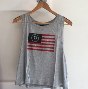 PURE BARRE FLAG LOGO TANK