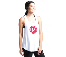 Load image into Gallery viewer, PURE BARRE LOGO RACERBACK