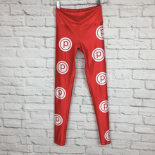 Load image into Gallery viewer, GOLDSHEEP x PURE BARRE LOGO HIGH WAIST LEGGINGS