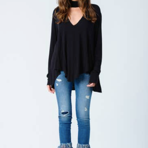 LUCCA COUTURE TURTLE NECK TUNIC