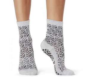 GEOMETRIC CREW STICKY SOCKS