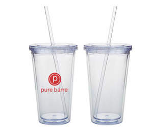 Pure Barre Tumbler (no lid or straw)