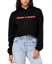 Load image into Gallery viewer, LTB CROPPED HOODED SWEATSHIRT