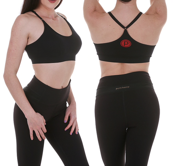 PURE BARRE SEAMLESS BRA