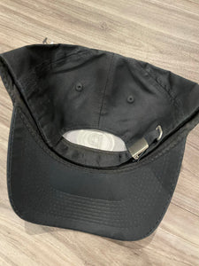 CIRCLE P BLACK EMBROIDERED HAT