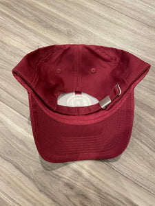CIRCLE P BURGUNDY EMBROIDERED HAT