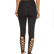 Load image into Gallery viewer, ONZIE x PURE BARRE LACE UP LEGGING