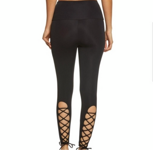 ONZIE x PURE BARRE LACE UP LEGGING