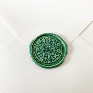 Arabesque Design Wax Seal Stamp