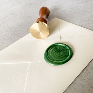 Blank Wax Seal Stamp