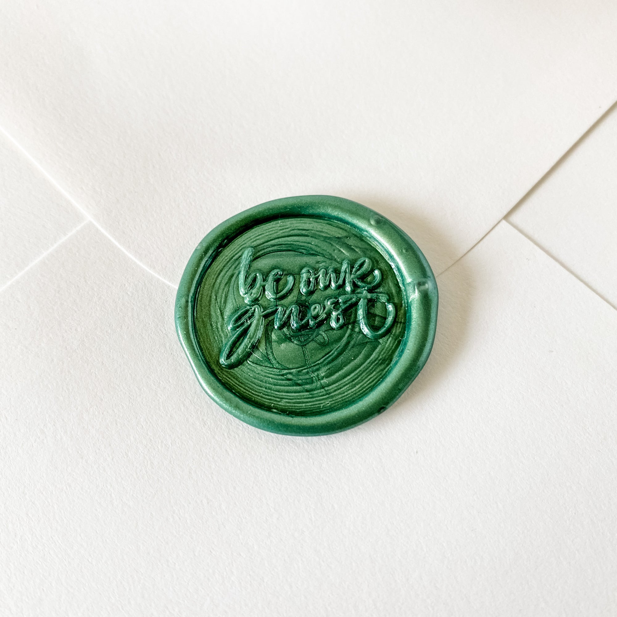 Be Our Guest Wax Seal Stamp