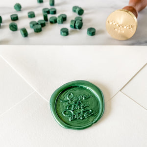 Save the Date Wax Seal Stamp
