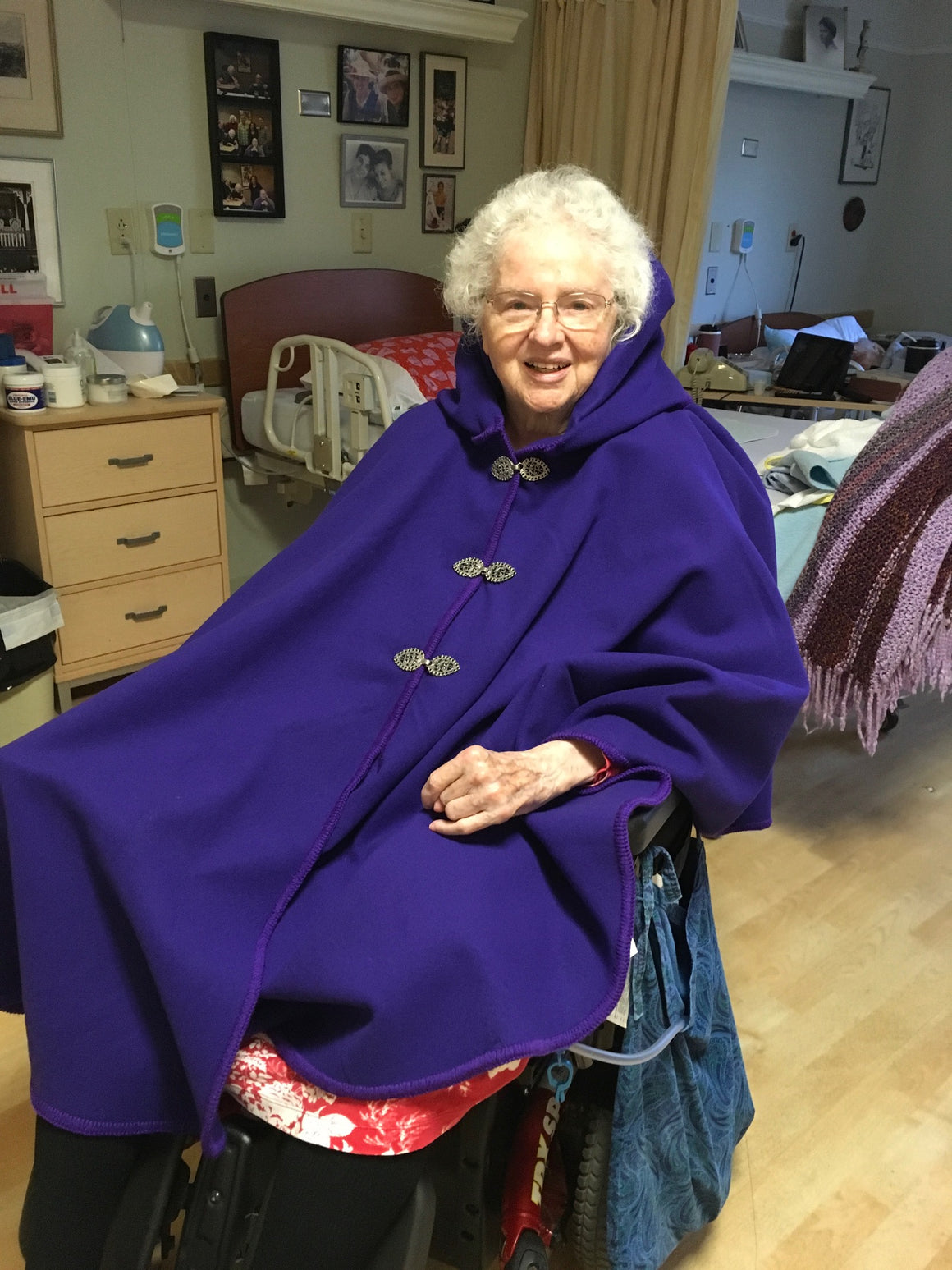 Adaptive Cape - Custom designed for Wheel chair comfort