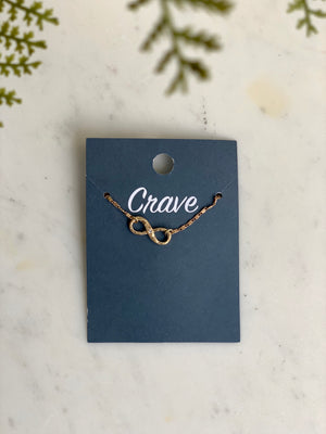 Crave Infinity Necklace