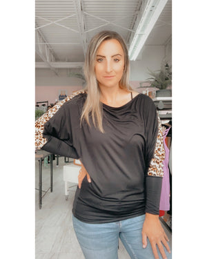Dolman Cheetah Top