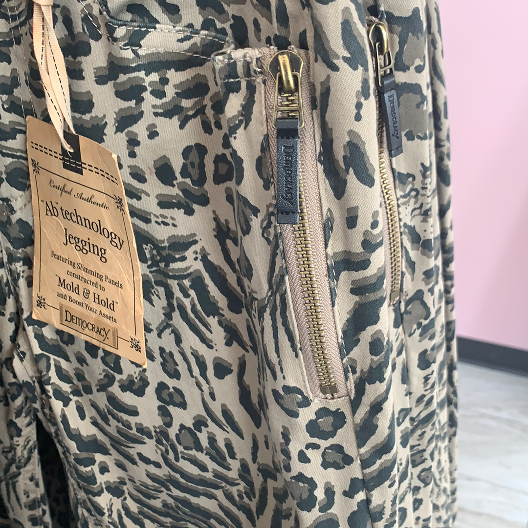 Leopard Democracy Jeans