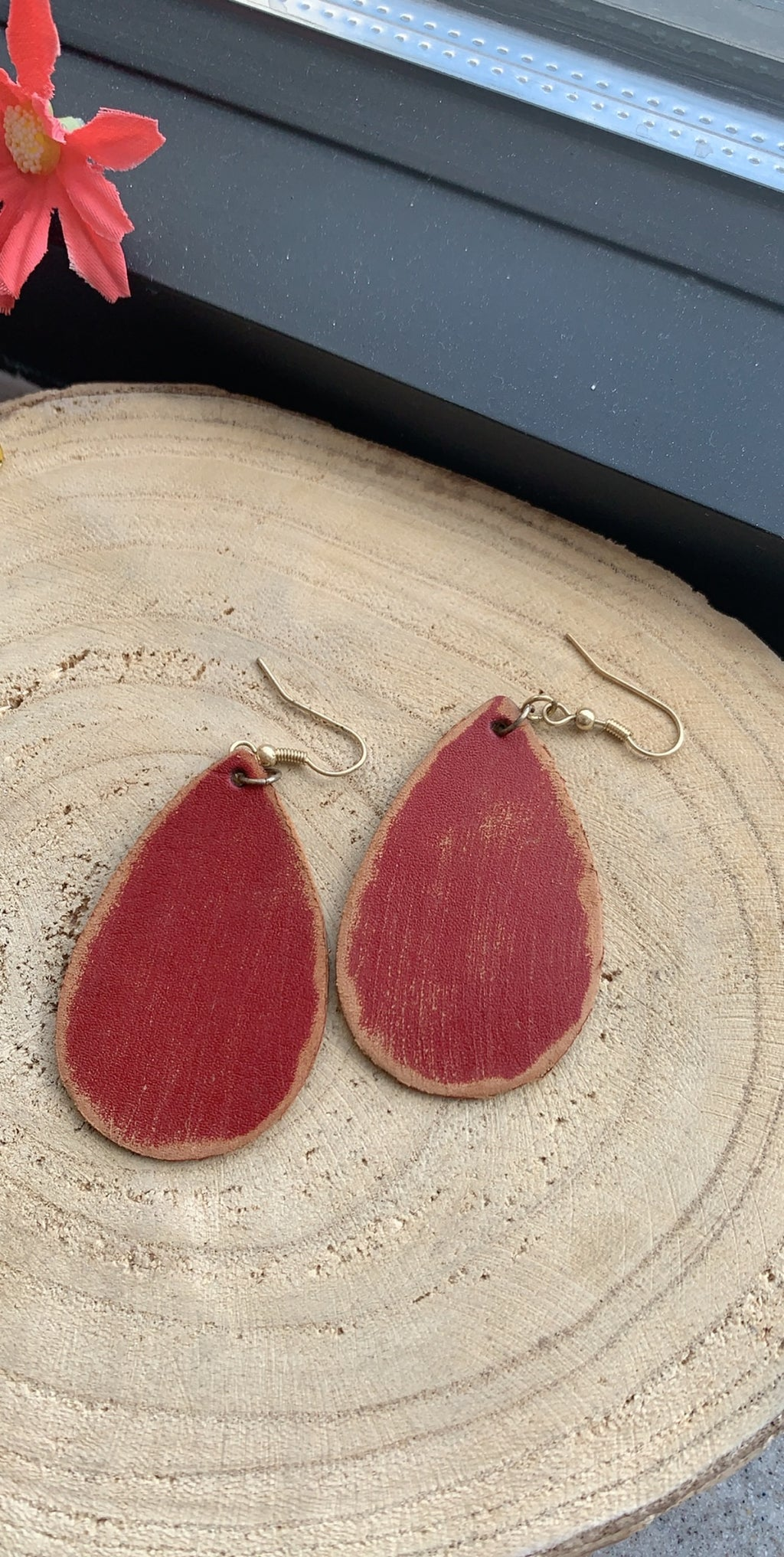 Nine Teardrop Earrings