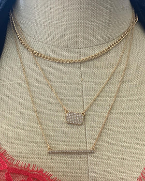 Million💲 layered necklace