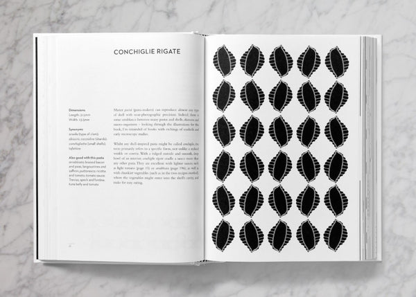 Black Geometry of Pasta Book