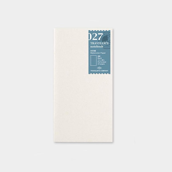 Traveler's Company Traveler's Notebook 027 Watercolor Paper Refill