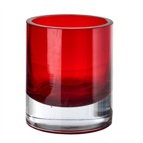 Glas Fyrfadsstage / Glass Tea Light Holder
