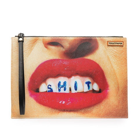 Seletti X Toiletpaper Clutch - SHIT