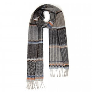 Wallace & Sewell Scarf - Pick'n Mix Grey