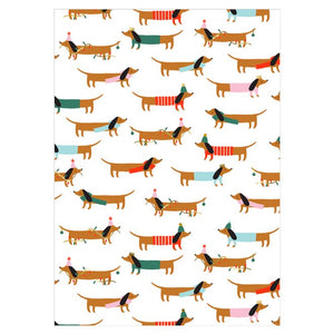 Sausage Dog Gift Wrap - coming soon!