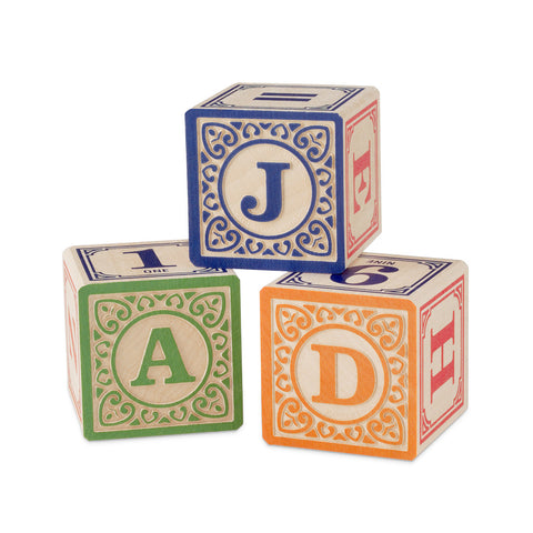 ABC Blocks på engelsk - træklodser // ABC Wooden Blocks in English