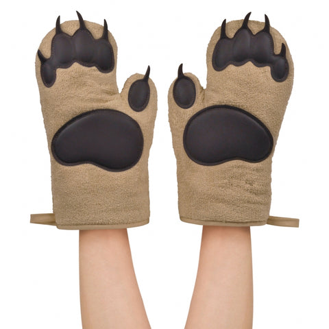FRED Bear Hands Oven Mitts - Ovnhandsker