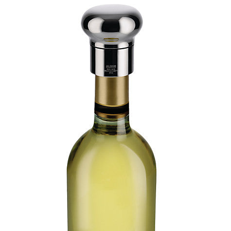 Alessi Noé Champagne and Wine Bottle Stopper