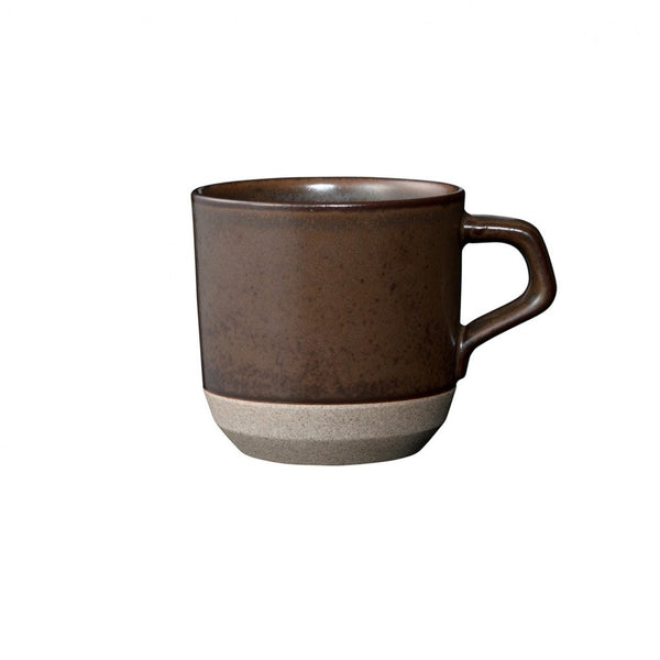 Kinto CERAMIC LAB Mug - brown