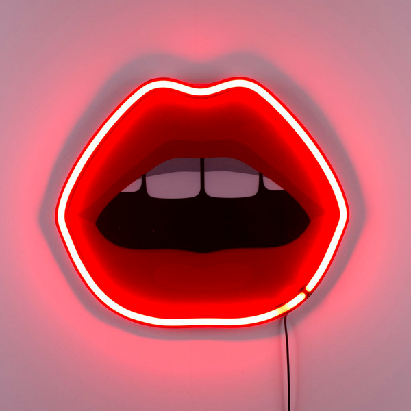 Seletti x Studio JOB - BLOW Mouth Neon Lamp