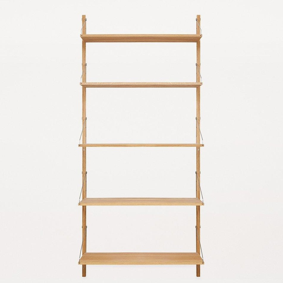 FRAMA SHELF Library H185 Single Section Natural Oak